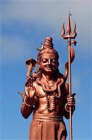 pilgrimartworks - Shiva's statue in Grand-Bassin pilgrim place, Mauritius island Stock Photo - Royalty-Freenull, Code: 400-04445075