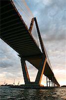 Cooper River Bridge in Charleston, South Carolina. Stock Photo - Royalty-Freenull, Code: 400-04448311
