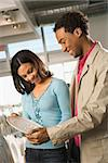 African American couple shopping in a home furnishings retail store. Stock Photo - Royalty-Free, Artist: iofoto                        , Code: 400-04450261