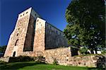 old stone castle in Turku Stock Photo - Royalty-Free, Artist: ta_samaya                     , Code: 400-04459022