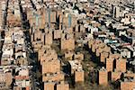 Aerial view of buildings in New York City. Stock Photo - Royalty-Free, Artist: iofoto                        , Code: 400-04462970