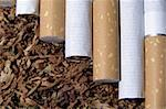 spilled tobacco and cigarete Stock Photo - Royalty-Free, Artist: SNR                           , Code: 400-04465198
