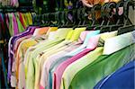 Traditional asian fabrics and clothes for sale in a shop in Malaysia Stock Photo - Royalty-Free, Artist: kgtoh                         , Code: 400-04468659