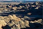 Overview of landscape in Badlands National Park, South Dakota. Stock Photo - Royalty-Free, Artist: iofoto                        , Code: 400-04468878