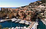 Beautiful scenery from the Mediterranean coastline of France and Monaco Stock Photo - Royalty-Free, Artist: icholakov                     , Code: 400-04470378