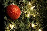 Christmas decorations of christmas balls for holiday season Stock Photo - Royalty-Free, Artist: vbrownjd                      , Code: 400-04470433