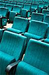 Rows of chairs in an empty auditorium Stock Photo - Royalty-Free, Artist: mrfotos                       , Code: 400-04471354