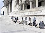 Washing the feet before entering the mosque - Istanbul Stock Photo - Royalty-Free, Artist: gmv                           , Code: 400-04471517