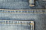 Jeans. The seam. The background.  The interesting invoice dark blue Jeans, macro  photo of a seam. Stock Photo - Royalty-Free, Artist: TAIGA                         , Code: 400-04473469