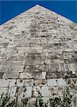 The 12BC Pyramid Of Cestius, Rome, Italy Stock Photo - Royalty-Free, Artist: rgbdave                       , Code: 400-04475485