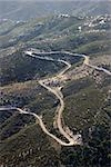 Aerial of winding scenic road in California, USA. Stock Photo - Royalty-Free, Artist: iofoto                        , Code: 400-04477644