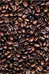 coffe beans background Stock Photo - Royalty-Free, Artist: ajn                           , Code: 400-04480110