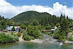 Yuba River, Downieville in California's Gold Country Stock Photo - Royalty-Free, Artist: disorderly                    , Code: 400-04488470