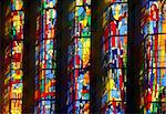 The stained glass windows of a church Stock Photo - Royalty-Free, Artist: myper                         , Code: 400-04490493