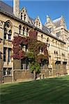 Part/ side wing of Christ Church, Oxford, UK. Christ Church is one of the colleges of Oxford Univeristy and at the same time the Cathedral church of the diocese of Oxford. Stock Photo - Royalty-Free, Artist: hospitalera                   , Code: 400-04490534
