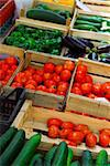 Fresh vegetables for sale on french farmers market in Perigueux, France Stock Photo - Royalty-Free, Artist: Elenathewise                  , Code: 400-04492827