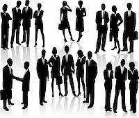 Lots of people. Business Team (vectors) Stock Photo - Royalty-Freenull, Code: 400-04493325