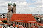 The cathedral, of Munich, Germany, Frauenkirche (Church of Our Lady) Stock Photo - Royalty-Free, Artist: alexandr6868                  , Code: 400-04496271