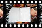 Photo Album with copy space. Great details! Stock Photo - Royalty-Free, Artist: arosoft                       , Code: 400-04499495