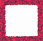 Valentine card. Ideal hearts frame for valentines day portrait. Stock Photo - Royalty-Free, Artist: myper                         , Code: 400-04501237