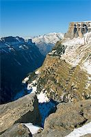 Sight of the cannon and Ordesa's valley, Huesca (Spain) Stock Photo - Royalty-Freenull, Code: 400-04505289