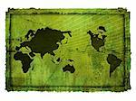 world map-vintage artwork Stock Photo - Royalty-Free, Artist: ilolab                        , Code: 400-04505911