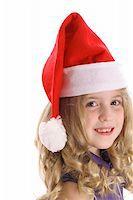 santa child side Stock Photo - Royalty-Freenull, Code: 400-04510900