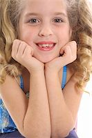 adorable child upclose Stock Photo - Royalty-Freenull, Code: 400-04510908