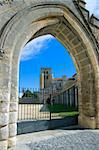 Monastery of Santa Maria la Real de Huelgas, Burgos (Spain) Stock Photo - Royalty-Free, Artist: JavierGil                     , Code: 400-04517295