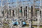 technology series: high voltage  electric substation view Stock Photo - Royalty-Free, Artist: agg                           , Code: 400-04521521