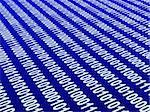 Internet concept - binary code