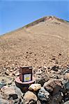 deposit for packs down the teide volcano in tenerife spain Stock Photo - Royalty-Free, Artist: quintanilla                   , Code: 400-04533541