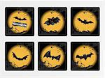 halloween icons set_8, vector wallpaper
