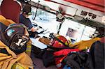 Firefighters travelling to an emergency Stock Photo - Royalty-Free, Artist: MonkeyBusinessImages          , Code: 400-04536360