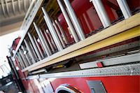 Detail of a fire engine Stock Photo - Royalty-Freenull, Code: 400-04536370