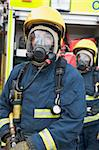 Firefighters in protective workwear Stock Photo - Royalty-Free, Artist: MonkeyBusinessImages          , Code: 400-04536483