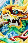 Jade feng shui chinese dragon Stock Photo - Royalty-Free, Artist: szefei                        , Code: 400-04538175