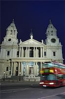 English landmark St Paul's Cathedral in London Stock Photo - Royalty-Freenull, Code: 400-04558744