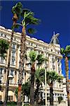 Luxury hotel on Croisette promenade in Cannes France Stock Photo - Royalty-Free, Artist: Elenathewise                  , Code: 400-04561780