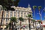 Luxury hotel on Croisette promenade in Cannes France Stock Photo - Royalty-Free, Artist: Elenathewise                  , Code: 400-04561781