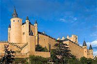 Given the Alcazar sunny day in Segovia (Spain) Stock Photo - Royalty-Freenull, Code: 400-04563072