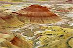 Strange cones in the Painted Hills of Oregon Stock Photo - Royalty-Free, Artist: rssfhs                        , Code: 400-04564521