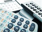 Simple and scientific calculators Stock Photo - Royalty-Free, Artist: buzsu4ever                    , Code: 400-04565789