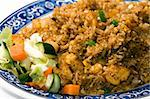 Traditional Asian food. Fried rice with vegetables. Stock Photo - Royalty-Free, Artist: Jumiati                       , Code: 400-04590935