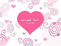 love background with swirl design Stock Photo - Royalty-Freenull, Code: 400-04593425