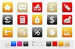 vector Finance and Banking icons box series Stock Photo - Royalty-Free, Artist: mybigbear                     , Code: 400-04603018