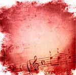 music grunge backgrounds - perfect background with space for text or image Stock Photo - Royalty-Free, Artist: ilolab                        , Code: 400-04603237