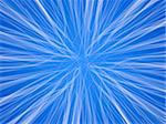 Digital transparent white trails on blue background  Stock Photo - Royalty-Free, Artist: AndreasG                      , Code: 400-04608612