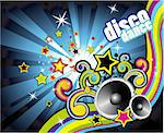 Background with an Explosion of Colors with music design elements Stock Photo - Royalty-Free, Artist: DavidArts                     , Code: 400-04613566