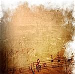 music grunge backgrounds - perfect background with space for text or image Stock Photo - Royalty-Free, Artist: ilolab                        , Code: 400-04614810